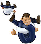 Stressed Out Man Stress Balls
